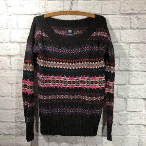 American Eagle SUPER SOFT winter print sweater